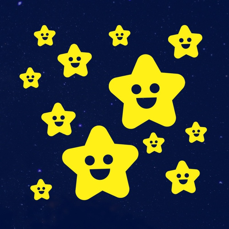 Sternenhimmel wandtattoo for Sternenhimmel kinderzimmer