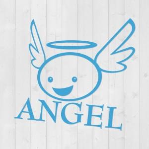 "Türschild ""Angel"""