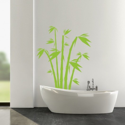 bambus wandtattoo. Black Bedroom Furniture Sets. Home Design Ideas