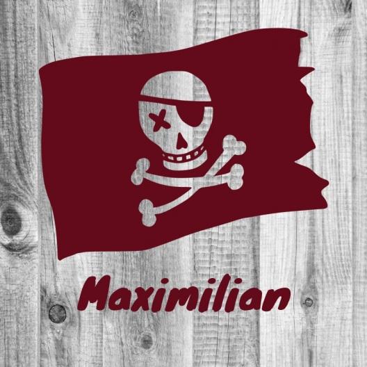 """Türschild """"Piratenflagge"""""""