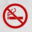 Set Rauchverbot Sticker